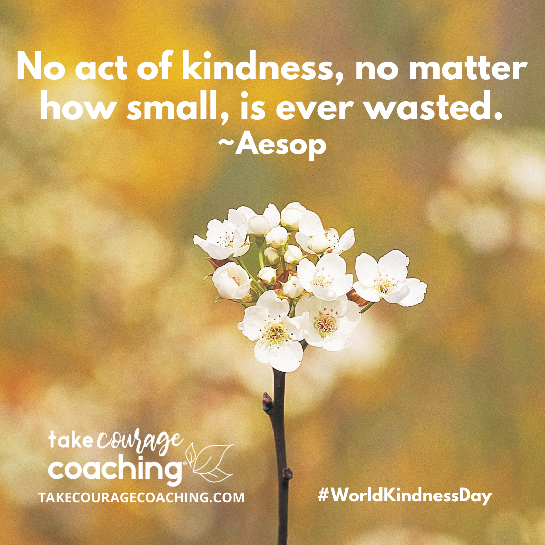 quote of the day on kindness from Aesop