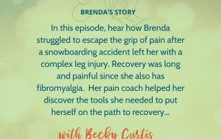 Image for Podcast #5 A Painful Snowboarding Accident: Brenda's Path to Recovery
